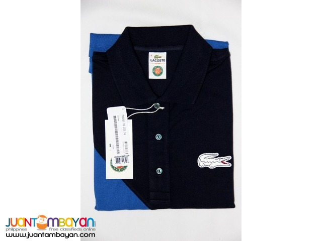 finest selection 4ae17 4db78 LACOSTE ROLAND GARROS POLO SHIRT FOR MEN - SLIM FIT