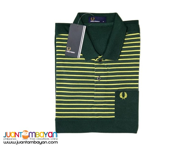 FRED PERRY STRIPES POCKET FOR MEN - POLO SHIRT FOR MEN