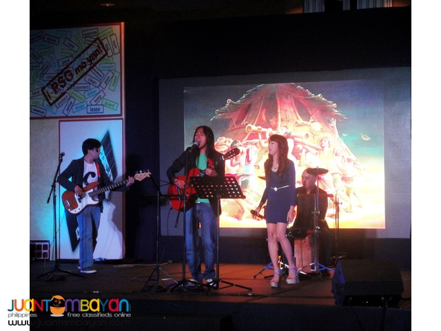 ACOUSTIC BAND for All Ocassions - Weddings, Debuts and other events.
