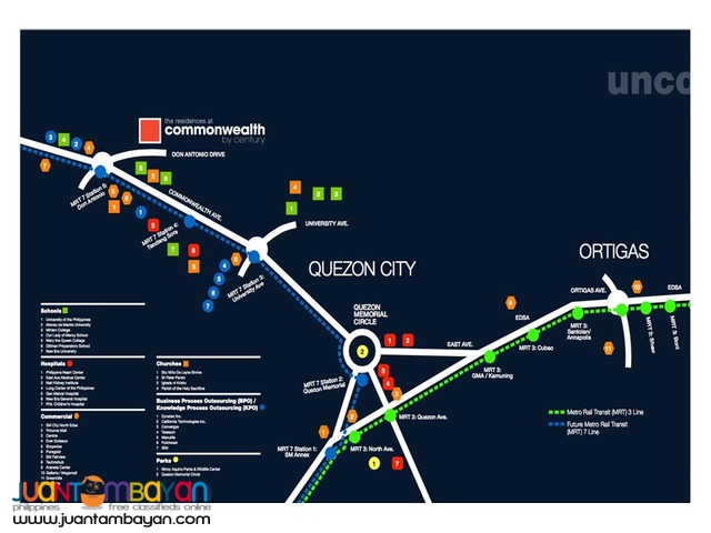 Unit For Sale in The Commonwealth Residences, QC