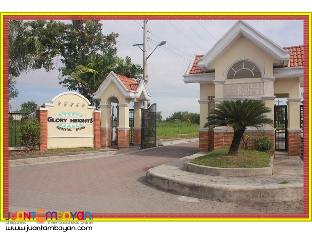 For sale lot in PAMPANGA, GLORY HEIGHTS Sto Tomas Pampanga