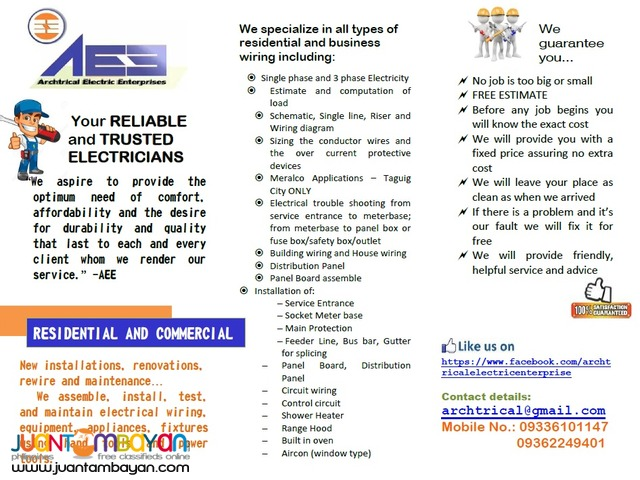 Electrician/ Electrical Works