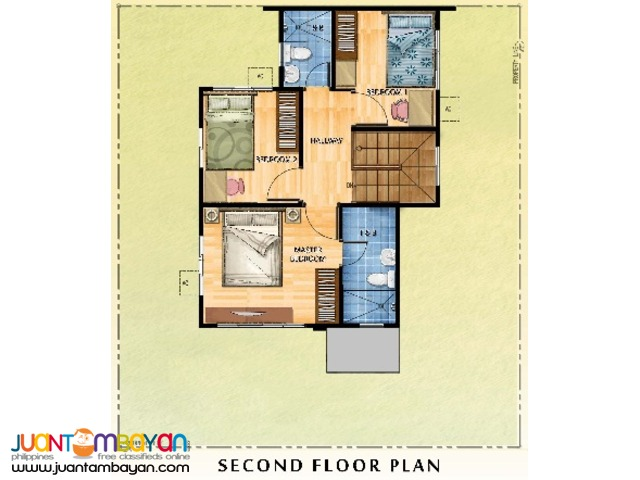 TULIP House Model at The Tropics 3 Marcos Highway Cainta