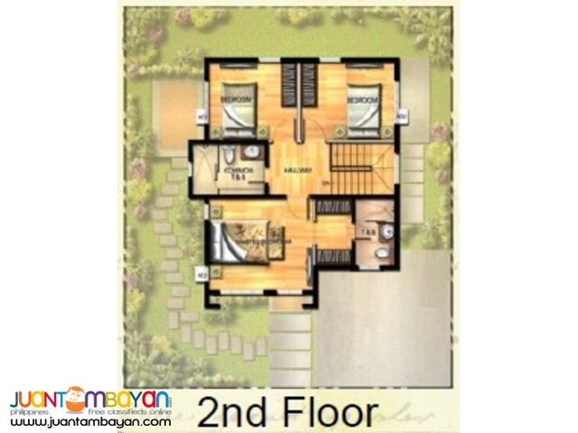 CHOPIN House Model at The Villas 2 Havila Rizal