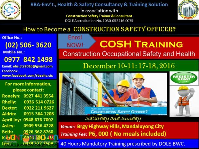 COSH Training
