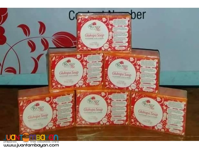 GLUKOPA AND KOJIC ACID SOAP BY ROSSY ME