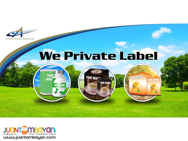Private label for Supplement, Coffee and Juice