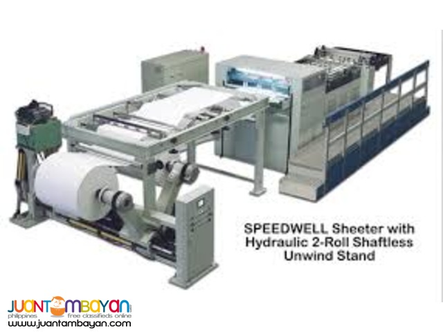 SERVO SHEETER MACHINE