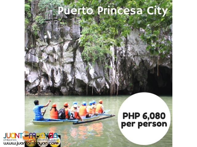 4D3N Puerto Princesa City Tour Package