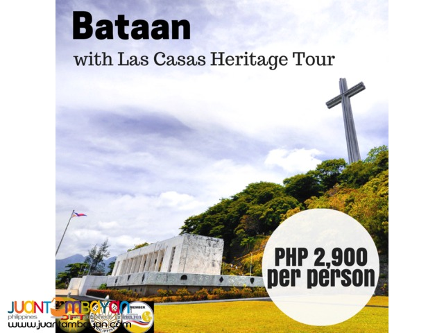 Bataan Day Tour with Las Casas Heritage Tour