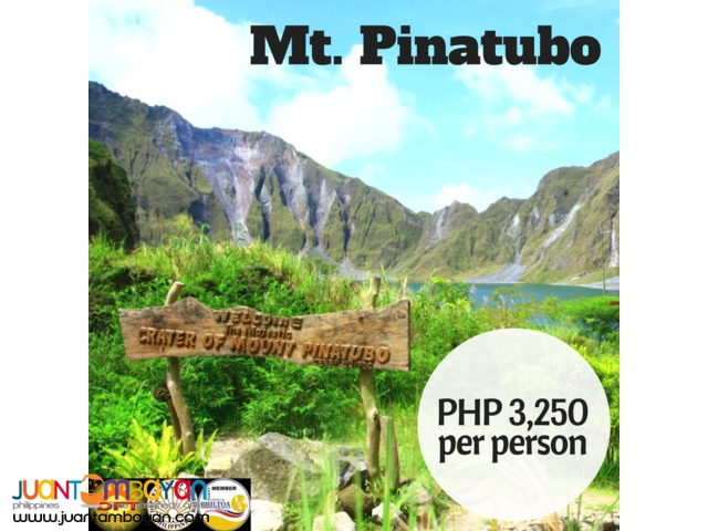 Mt. Pinatubo Day Tour Package