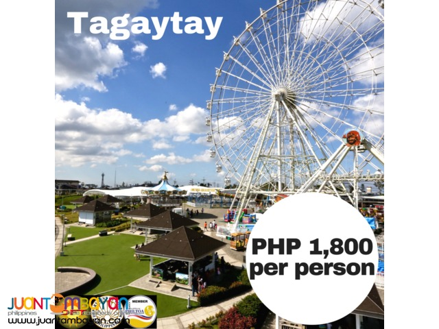 Tagaytay Day Tour Package
