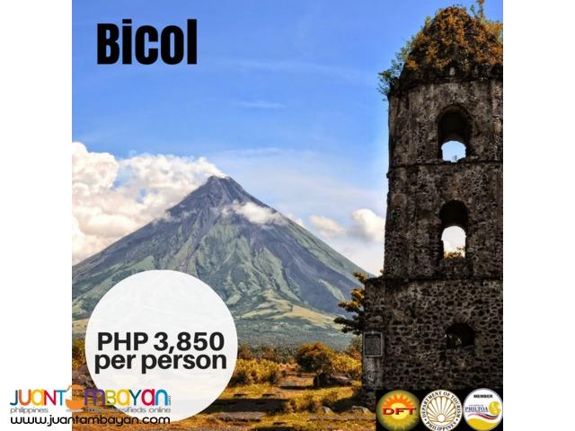 3D2N Bicol Tour Package