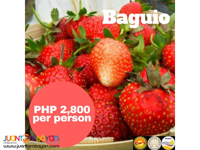 2D1N Baguio Tour Package