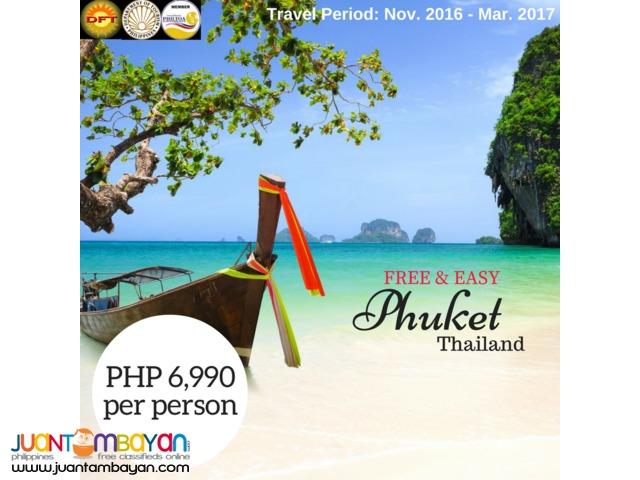 3D2N Phuket, Thailand