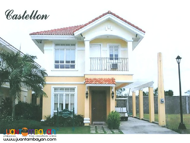 RFO house for sale at southforbes golf city near paseo de sta rosa