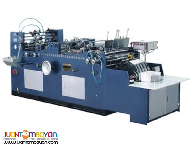 FULL AUTOMATIC ENVELOPE MAKING MACHINE