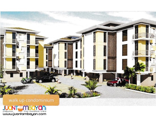 Walk up condo for sale at Brentwood near at Gaisano
