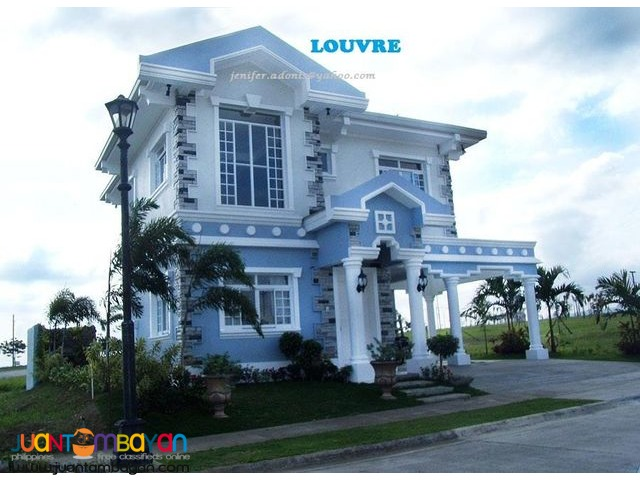 RFO house for sale at southforbes golf city near Nuvali