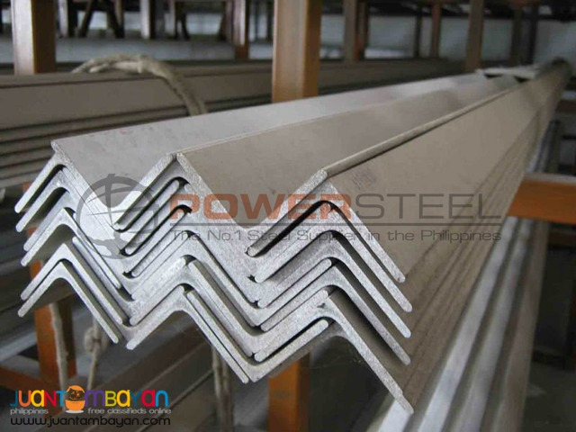 Supplier of Aluminum Angle Bar in Davao