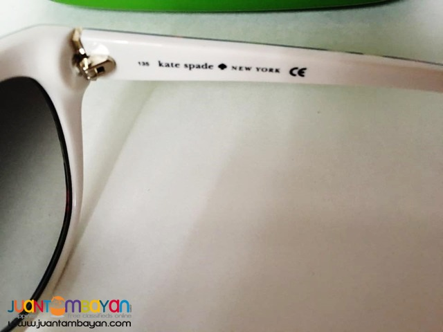 SALE KATE SPADE Sunglasses MARGERITA Floral White Frame