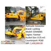 CDM6065 Hydraulic Excavator (.25m3 Capacity) for sale