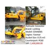 CDM6065 Hydraulic Excavator (Yanmar Engine) (.25m3 Capacity)