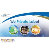 Private label manufacturing