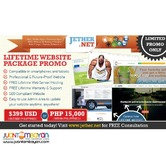 15K LIFETIME WEBSITE PACKAGE compatible in Smartphones/Tablets