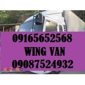 10 wheeler wing van for rent lipat bahay