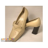 Italian Leather Heeled Shoes