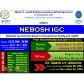 NEBOSH International General Certificate