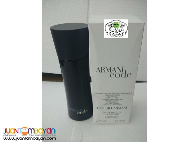 Authentic Perfume Armani Code Giorgio Armani Perfume Taytay