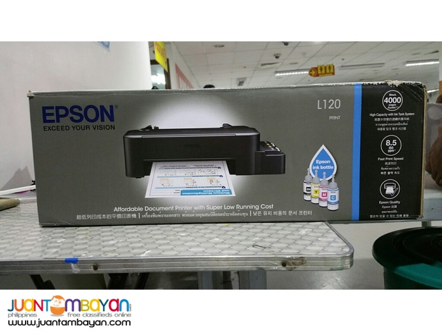 Epson L120 Printer with CISS Ink