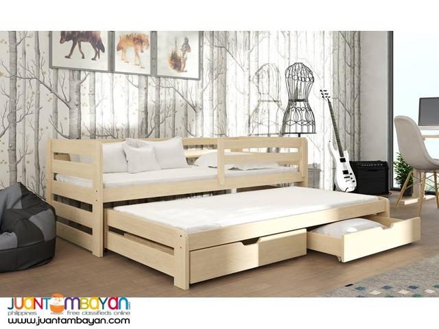 Oak Pull Out Sofa Bed Caloocan Aj Francis