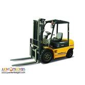 LG25DT diesel Forklift 2.5 Tons Lonking NEW