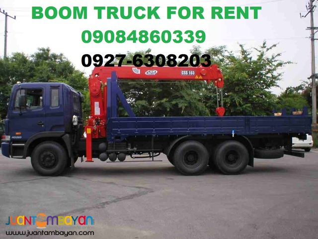 Truck For Rent >> Boom Truck For Rent Low Bed And Selfloading Taguig City Trucking