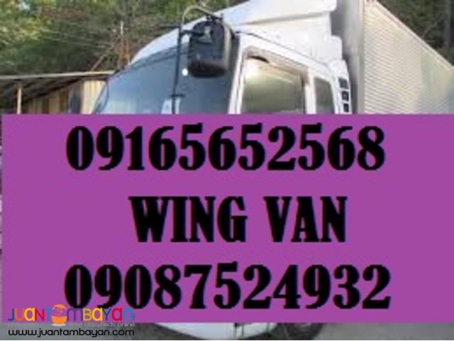 10 wheeler wing van?boom truck for rent