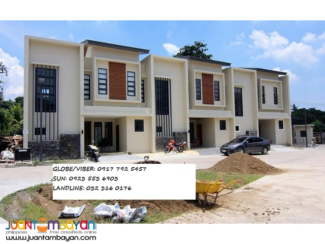 RFO Partially Furnished townhouse talamban cebu city