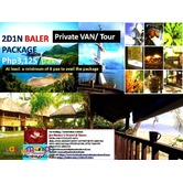 2DAYS 1 NIGHT BALER PRIVATE TOUR