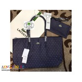 LACOSTE SHOULDER BAG WITH POUCH - CODE CB132A