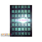 14.8 x 21 cm. Large Image Nail Art Stamping Plate A