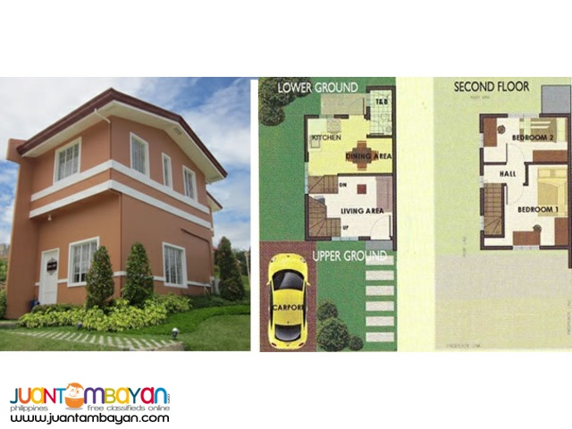 ready for occupancy houses camella pit os cebu city