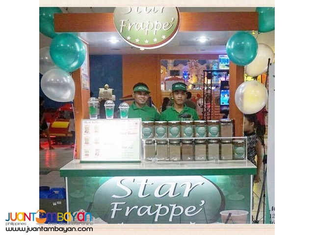 How to franchise Star Frappe' Food Cart?