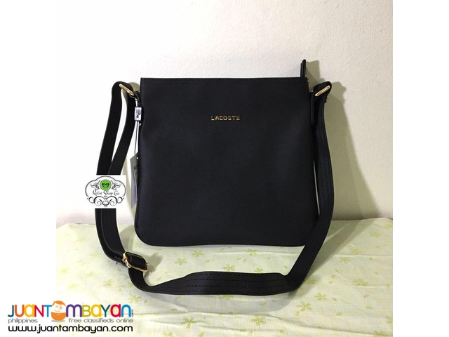 b7a34b9080 LACOSTE CLASSIC SLING BAG - AUTHENTIC QUALITY - CODE CB136   Taytay ...
