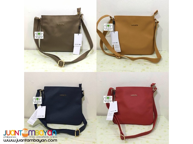 6cb03828e LACOSTE CLASSIC SLING BAG - AUTHENTIC QUALITY - CODE CB136 Taytay