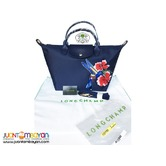 LONGCHAMP HANDBAG WITH SLING - LONGCHAMP ORIGINAL BAG - NAVY