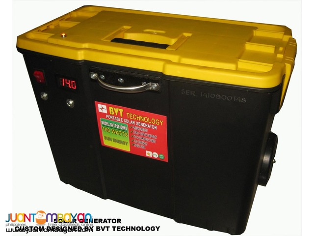 Custom solar power Generator 500W-yellow
