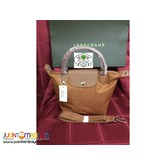 LONGCHAMP 4A NEO SMALL SHORT HANDLE (TAN)