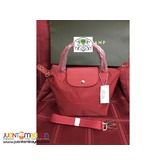 LONGCHAMP 4A NEO SMALL SHORT HANDLE RED